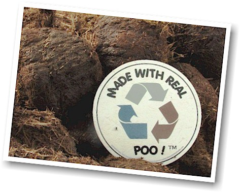 Recycle Made With Real Poo_Elephant dung